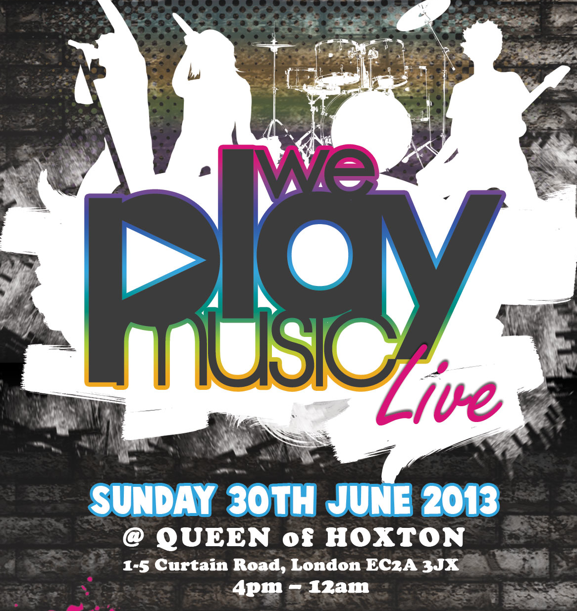 Check out the videos from We Play Music Live All Dayer 30/6/13