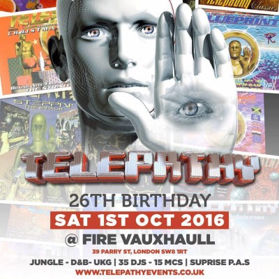 DEJA VU FM – UKG REUNION 95-98 @ TELEPATHY – 1ST OCTOBER