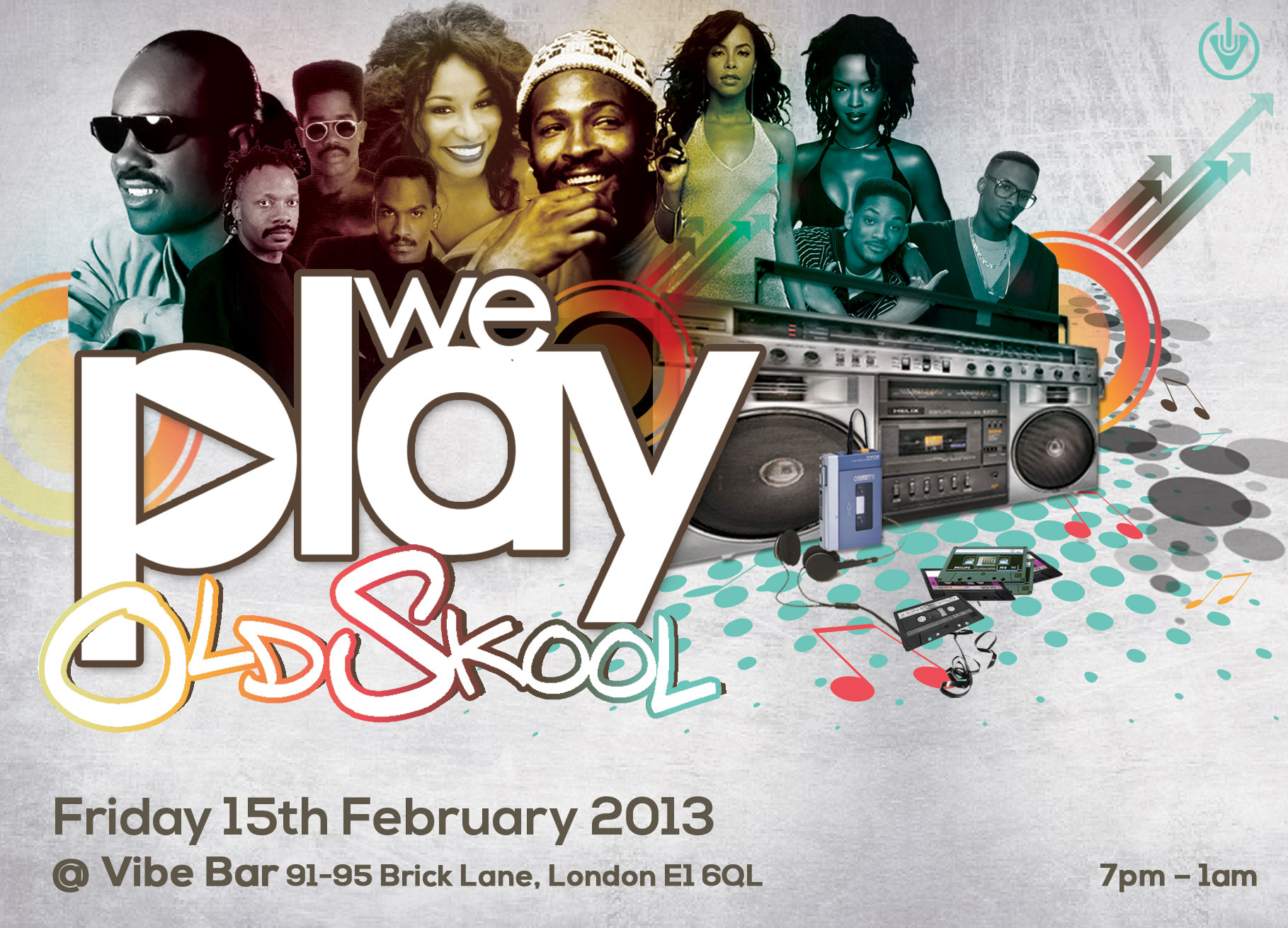 We Play Oldskool – The launch Party – Friday 15th February