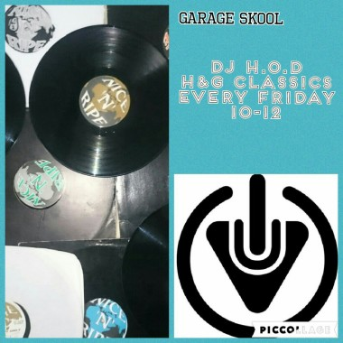 DJ H.O.D House & Garage Fridays 19/8/16