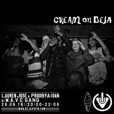 Cream On Deja – 26th Of September!