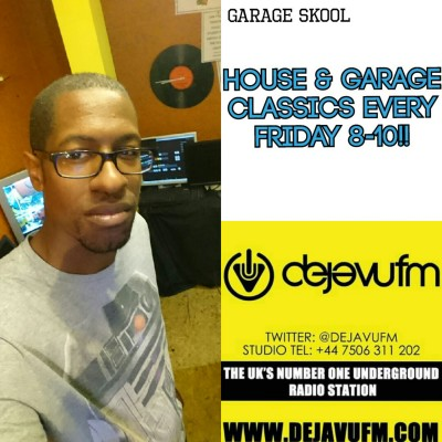 H.O.D Presents House & Garage Fridays 16/9/16