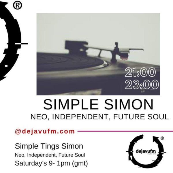 EP#28 : Simple Tingz Simon – Simply Soul – Music From The Millennium – 2nd November 2019